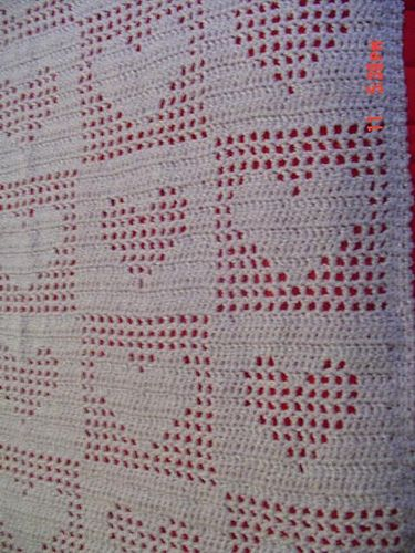 Tender Hearts Pattern By Anne Halliday Afghans Throws Pinterest