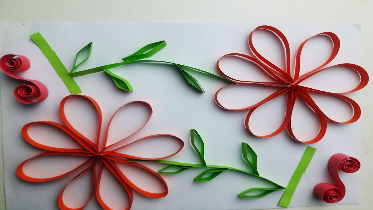 How To Make Paper Quilling Bday Cards Valentines Day Greeting