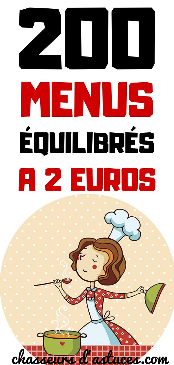 200 Menus équilibrés à 2 Euros : menus, équilibrés, euros, Menus, Équilibrés, Euros., Manger, équilibré,, C'est, Quelque, Chose, Devrions, Faire., Malheureusement,, Somm…, Menu,, Cooking,
