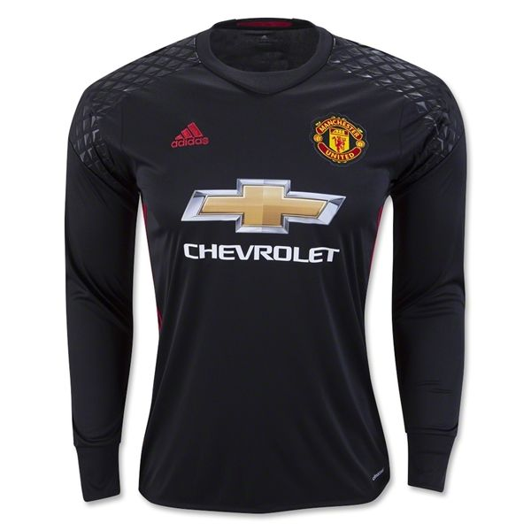 huge selection of 30d45 64773 Manchester United 16/17 LS Goalkeeper Jersey | Sports Stuff ...