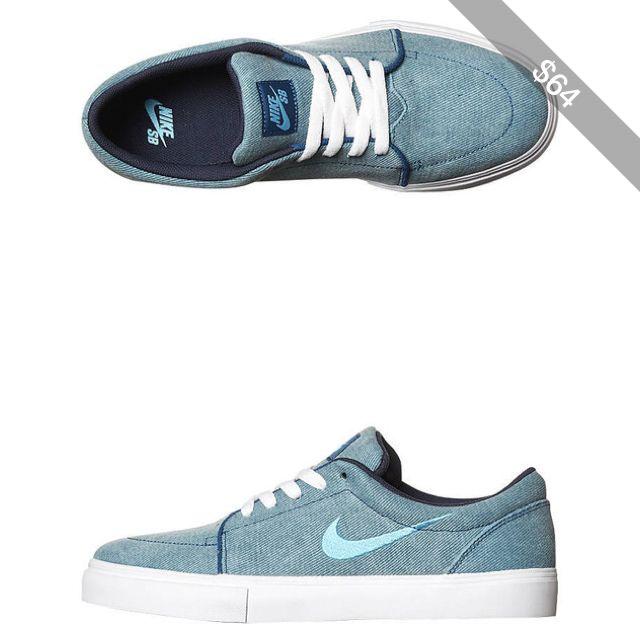 Nike Women s Womens Satire Canvas Shoe Rubber Canvas Women s Shoes Blue 09ea6c386