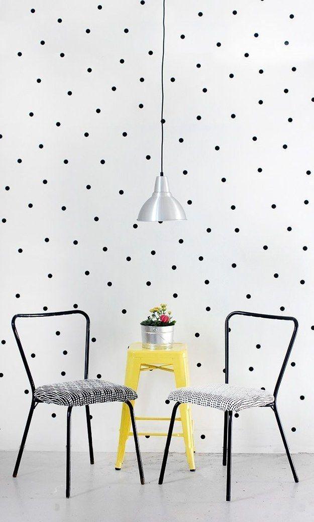 Para os mais discretos, bolinhas de papel são uma revolução minimalista.