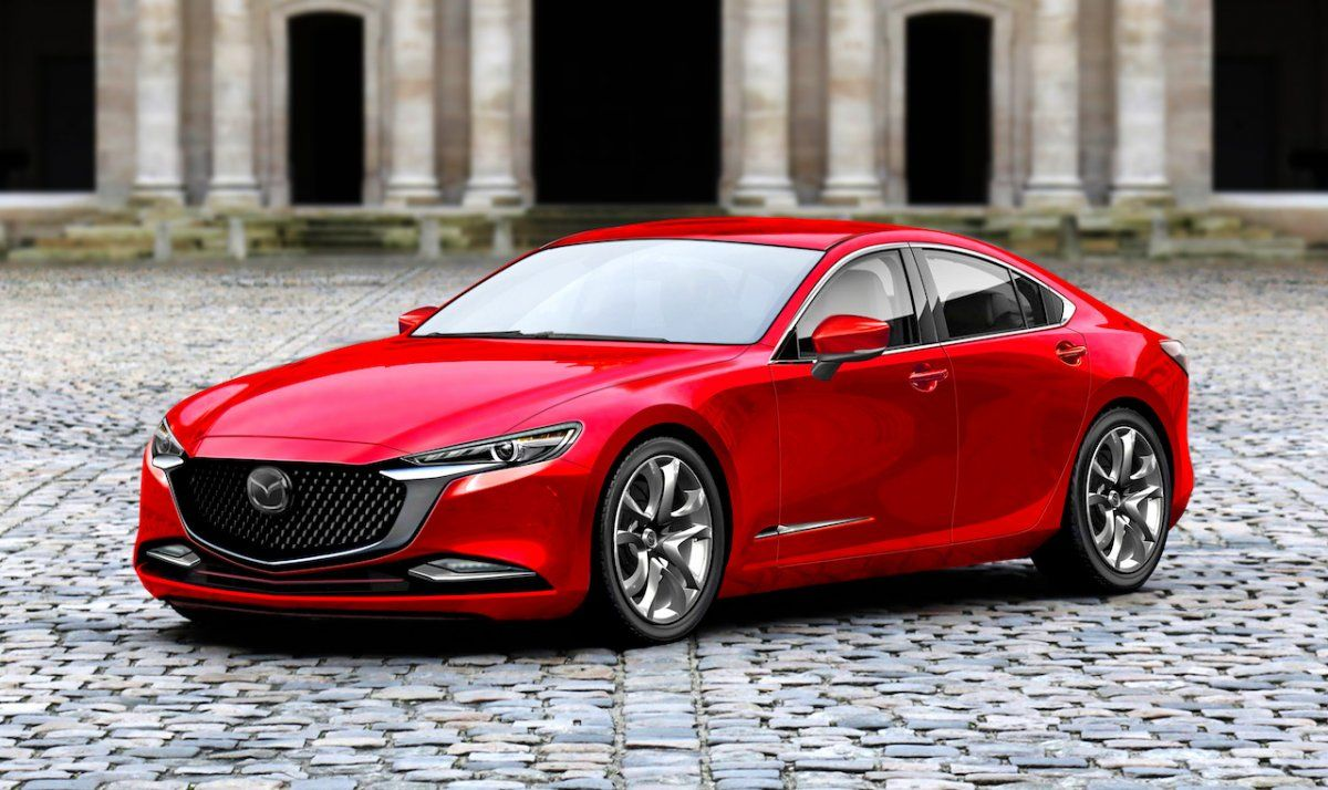 Next Gen 2020 Mazda 6 Rendered And It Looks Ace Forcegt Com Mazda Cars Mazda 6 Mazda