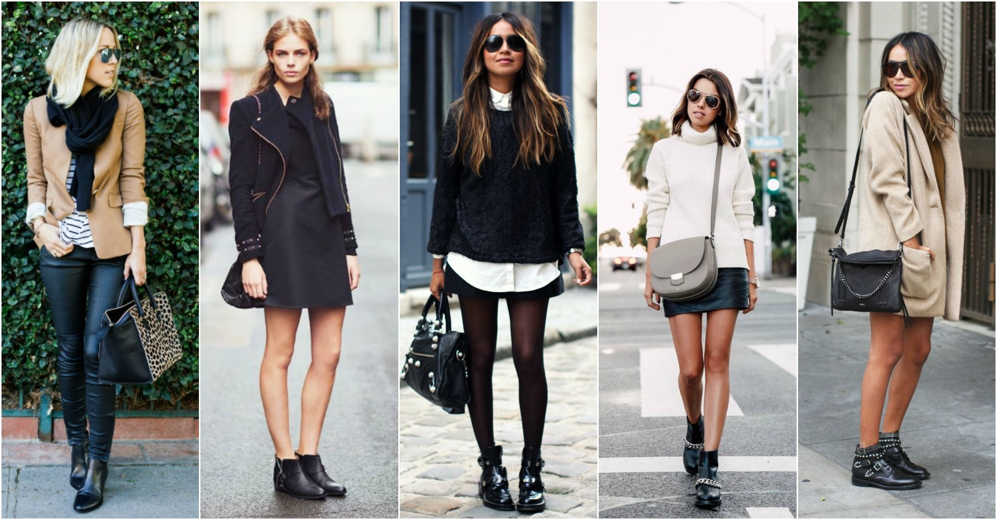 flat boots to wear with dresses