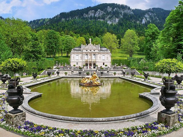 Konigshauschen Kings Cottage Linderhof Palace Germany Castles Places Worth Visiting