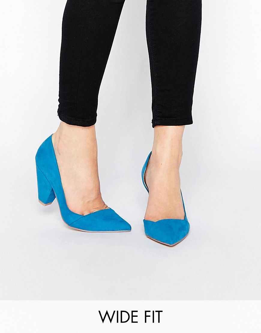 4993720068 ASOS+SAPPHIRE+Wide+Fit+Pointed+Heels   SOLE MATES   Asos shoes ...