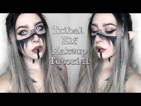 tribal elf makeup tutorial ♡ - YouTube