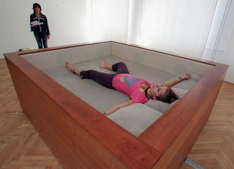 There Are Speakers Built Inside This Bed. You Can Actually Feel The  Vibrations   15 Unique Beds That Might Be Too Awesome To Actually Go To  Sleep In