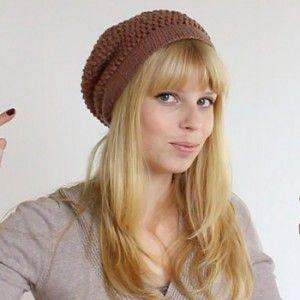 Beanie Puff Stitch Muts Haken Haken Kleding Haken Crochet En