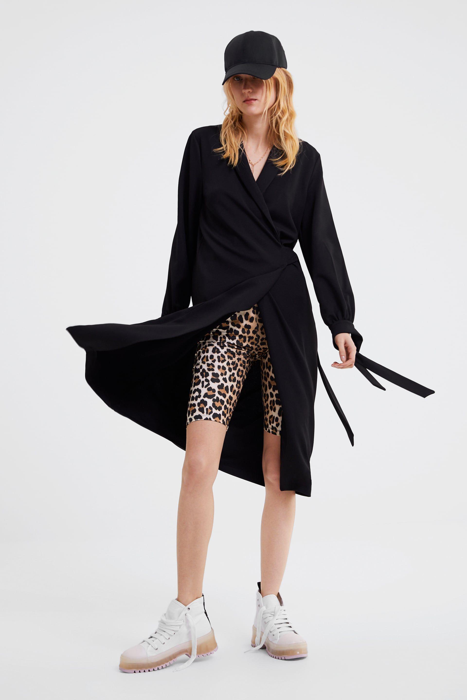 f3845d08 Animal print bike shorts in 2019 | Wear | Shorts, Pants for women ...