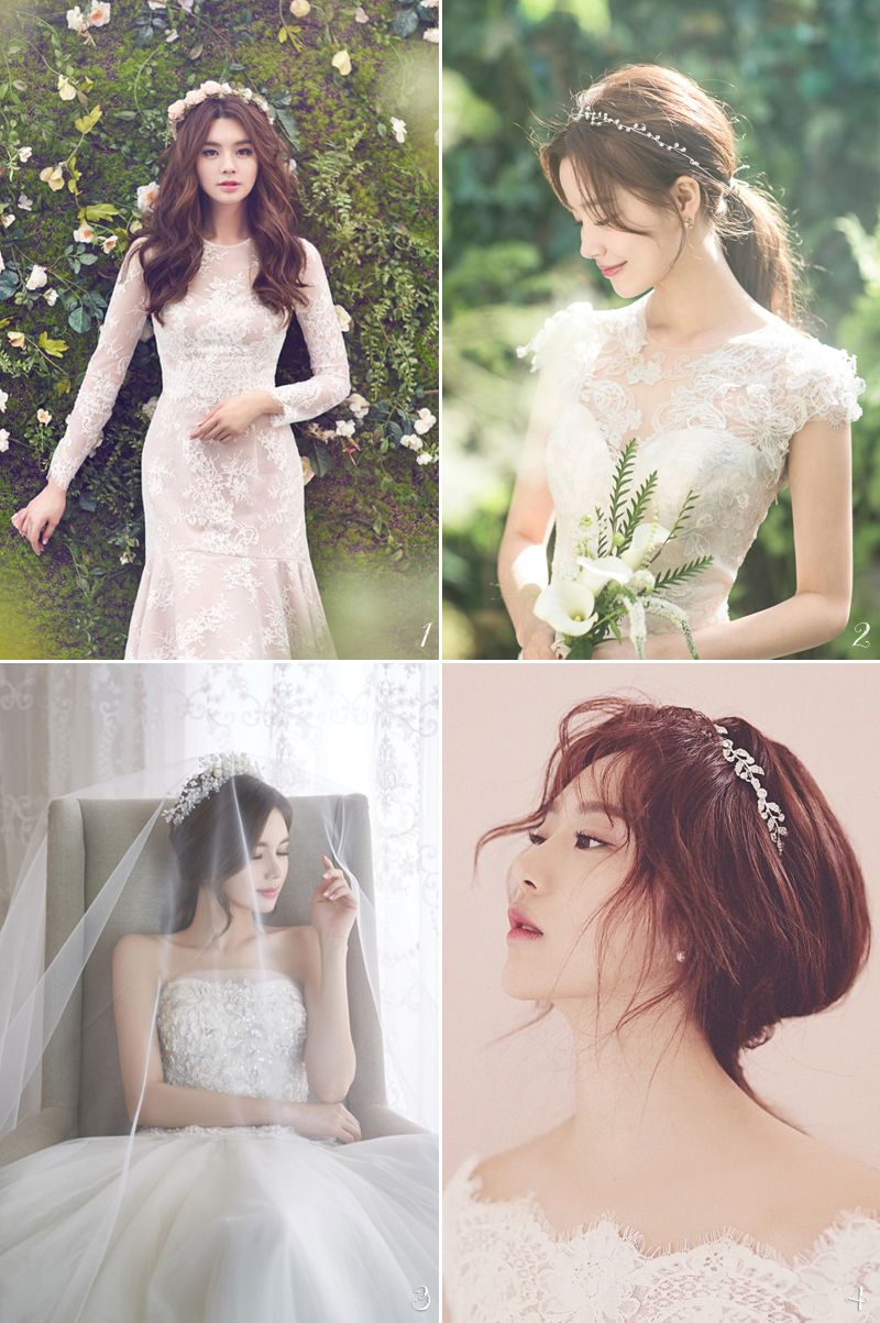6 Korean Bridal Hair Makeup Style Trends You Must Know Bridal