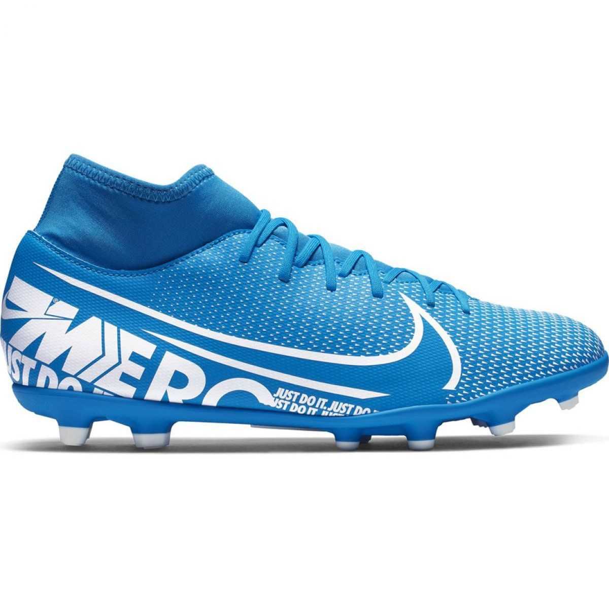 Football Shoes Nike Mercurial Superfly 7 Club Fg Mg M At7949 414 Blue Blue Football Shoes Superfly Football Boots