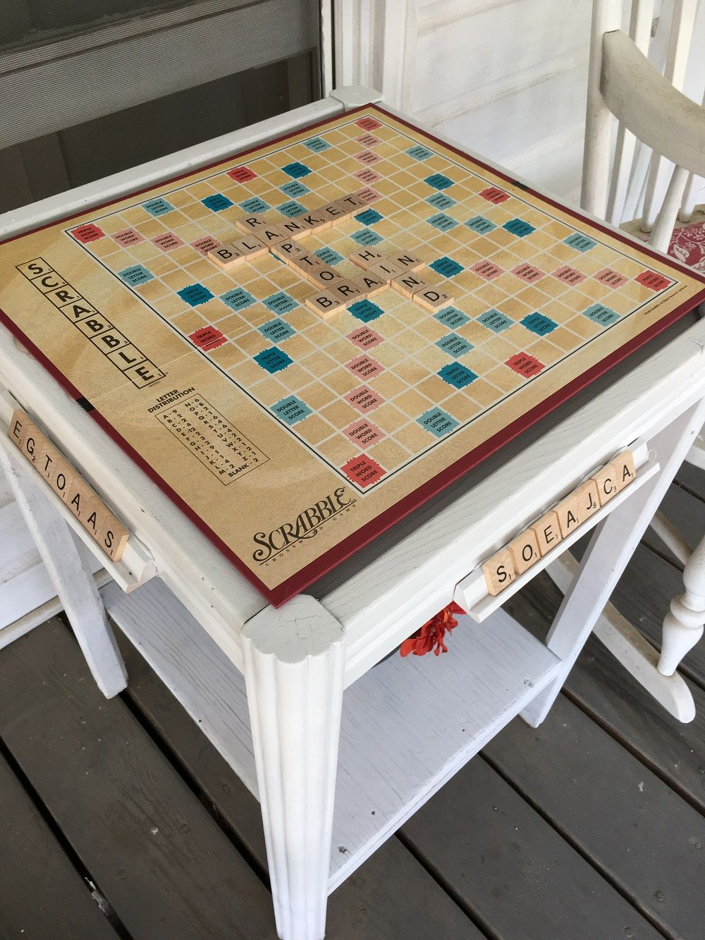 Ouija Board Coffee Table Make A Scrabble Game Table Do You Have That Old Scrabble Board