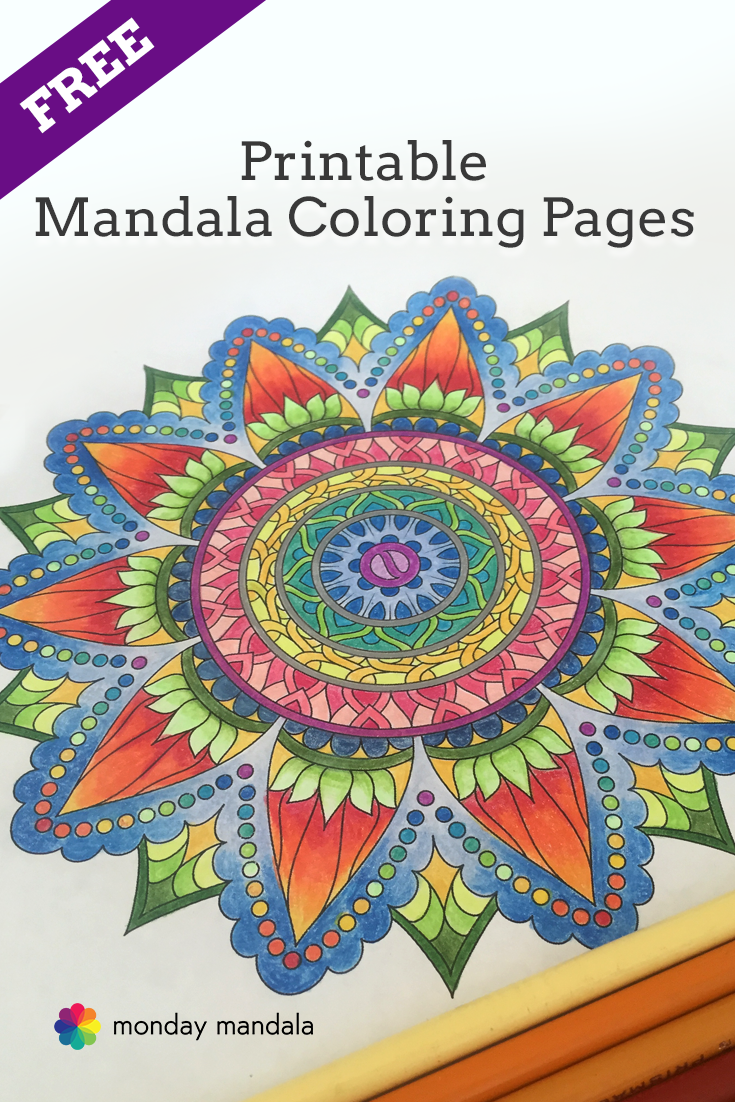 free printable mandala coloring pages download print and share from. Black Bedroom Furniture Sets. Home Design Ideas