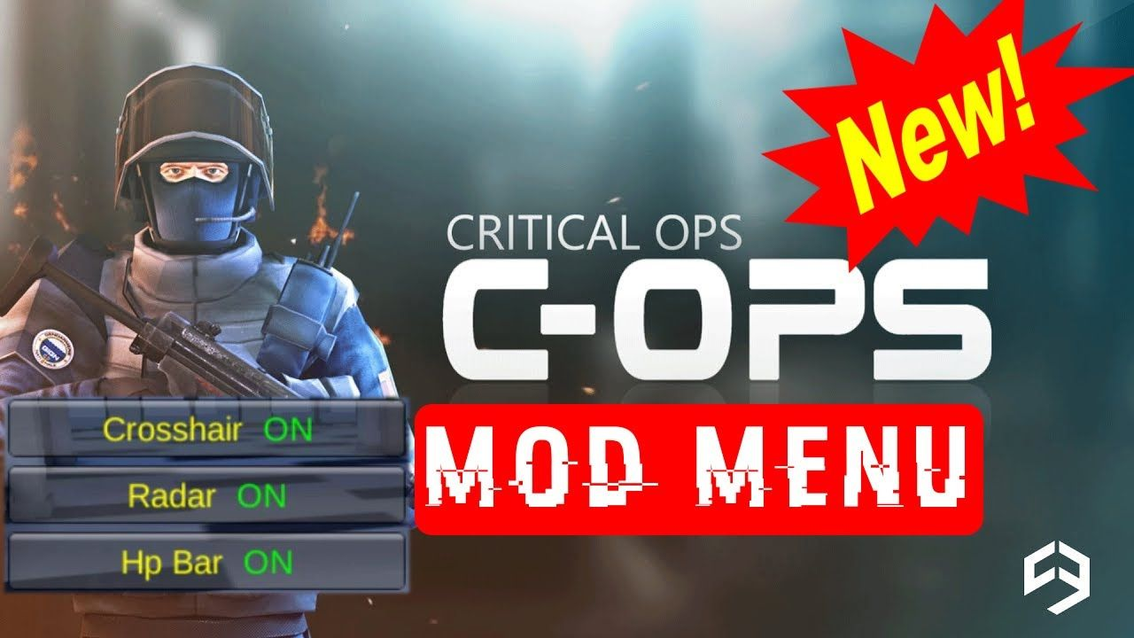Critical Ops Mod Menu - Hack Crosshair, Radar, HP Bar