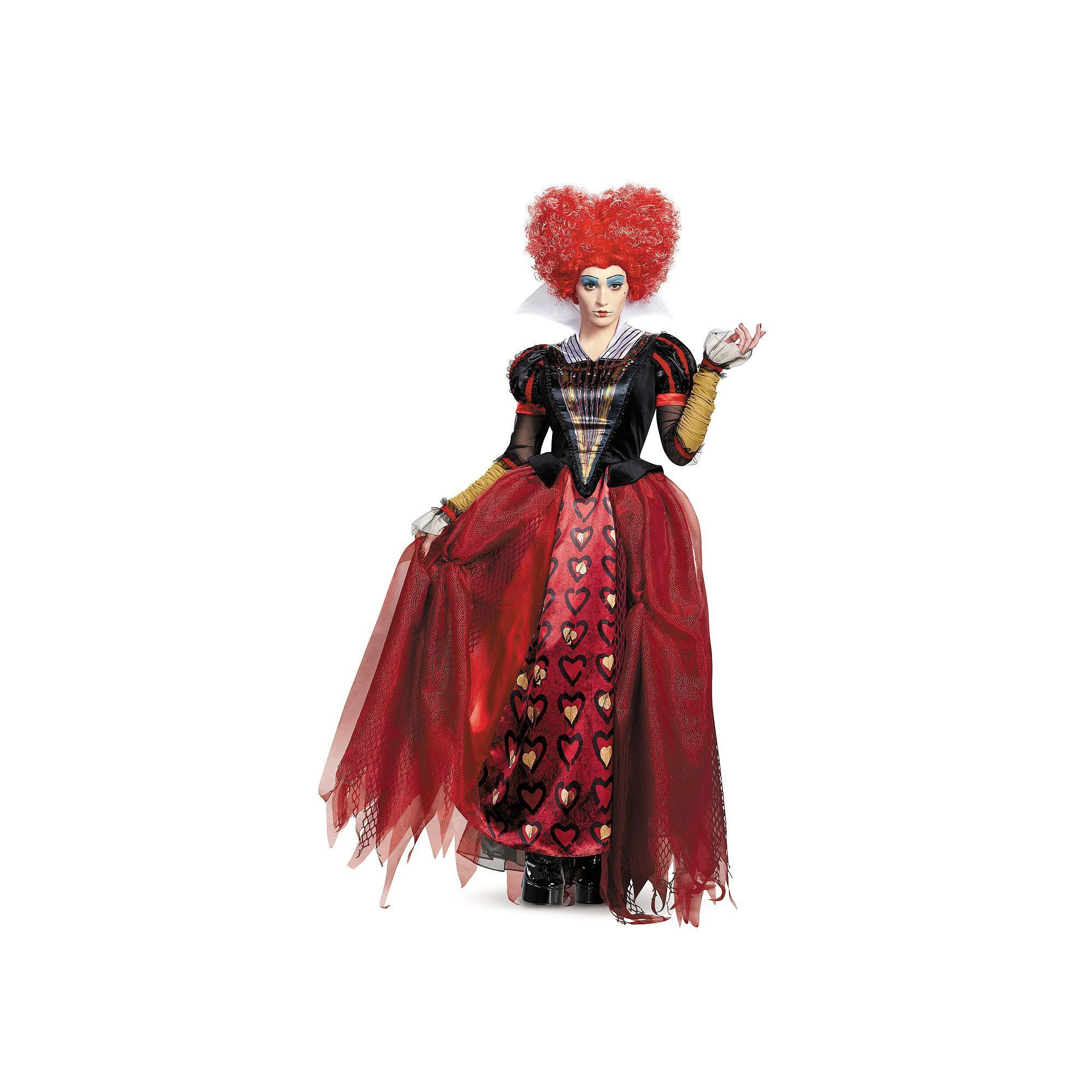 Plus Size Disney S Alice Through The Looking Glass Adult Plus Red