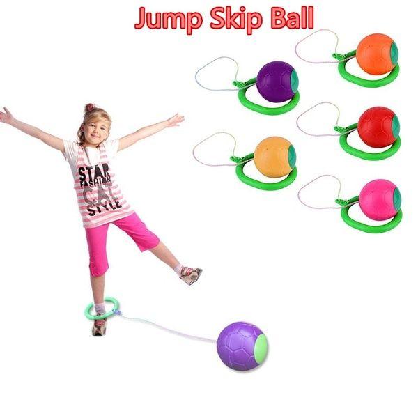 Skip Ball Children Exercise Coordination Balance Hop Jump