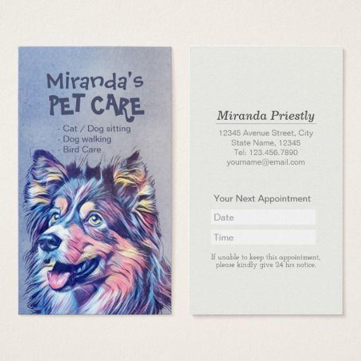 Pet Care Sitting Bathing And Grooming Beauty Salon Appointment Card Zazzle Com Pet Sitting Business Pet Care Pet Branding