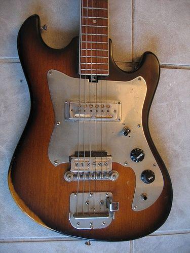 Teisco heit deluxe Japanese guitar