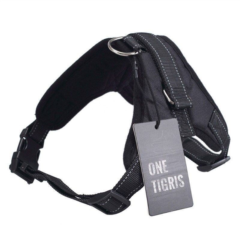 OneTigris Saddle-type Dog Harness Vest with 2 Adjustable Straps