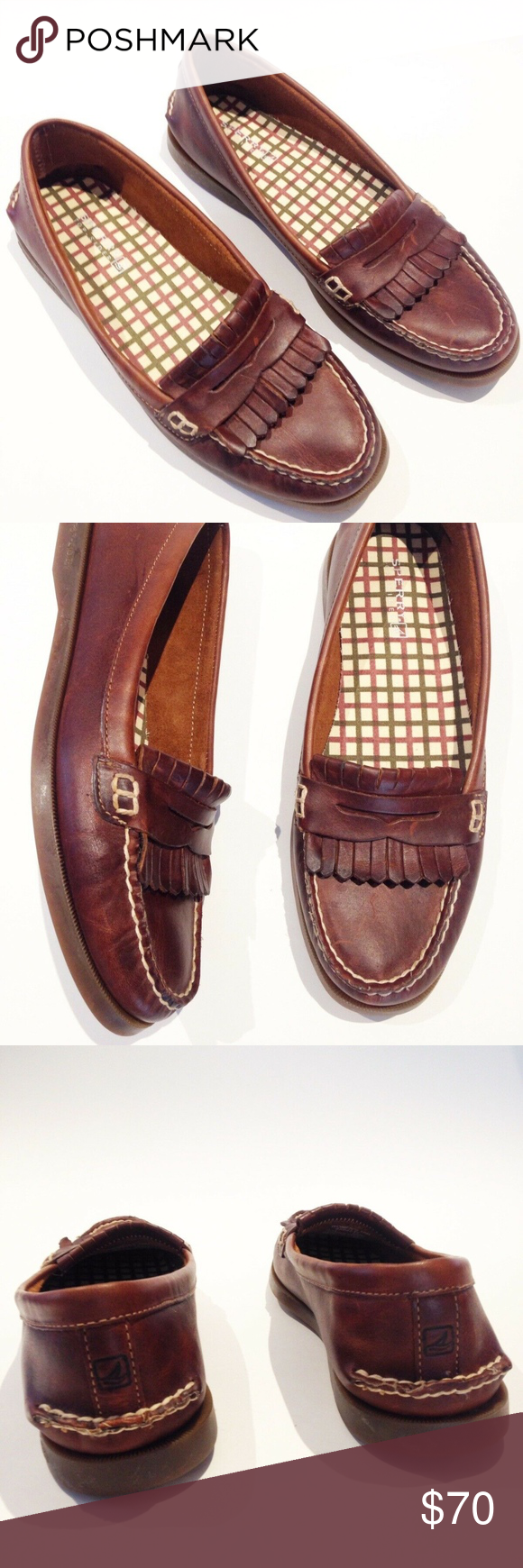 ce0b53ebf35 SPERRY AVERY PENNY LOAFERS MOC BOAT SHOES flat 10 Sperry Top Sider Womens  size 10 Avery