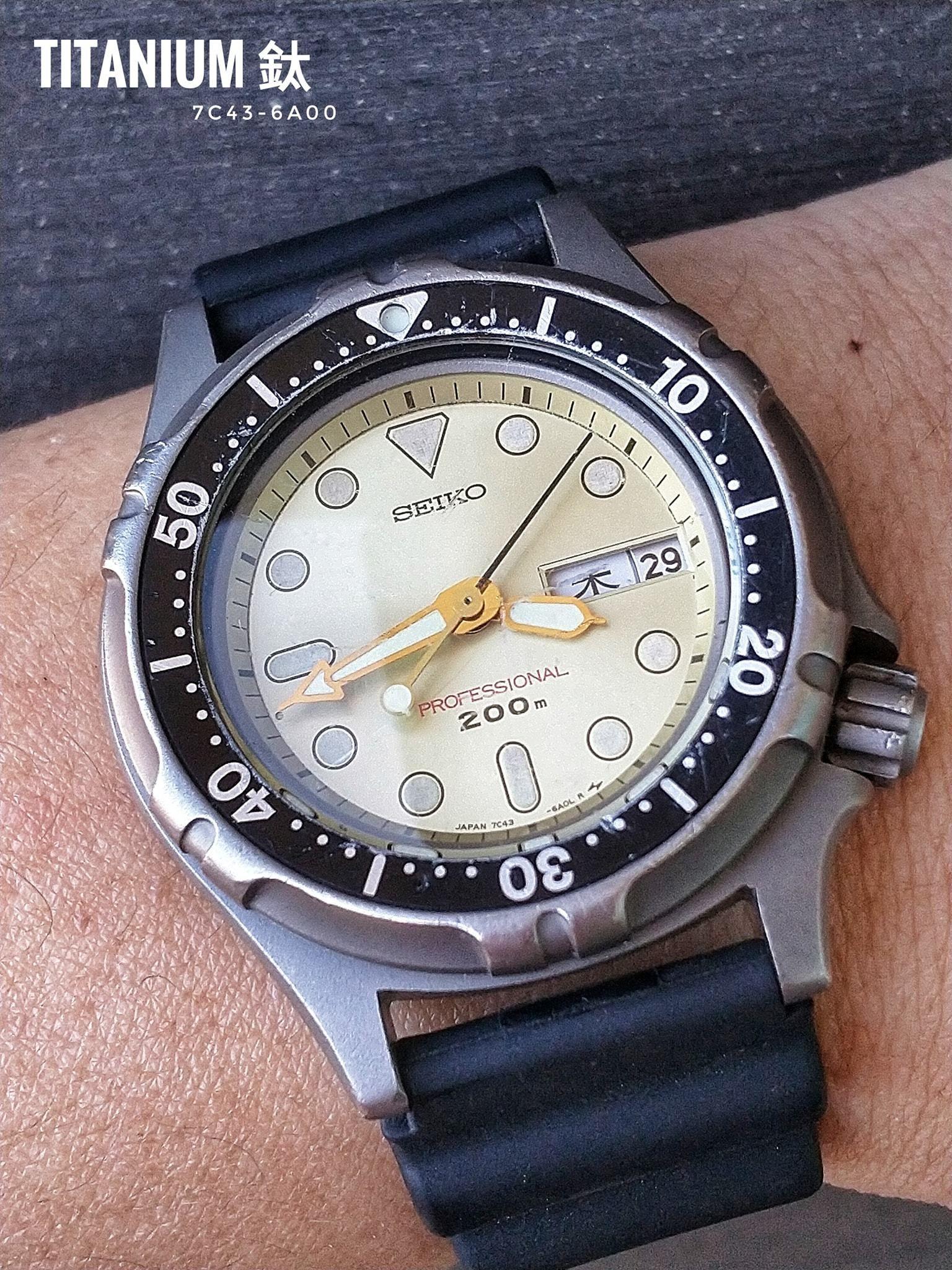 Đồng hồ seiko titanium