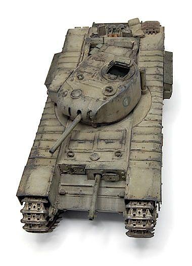 """Churchill Mk I Dual 3"""" Howitzers - Tunisia 1943"""