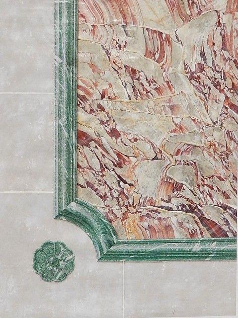 Peinture décorative trompe l oeil architectural art mural décor peint