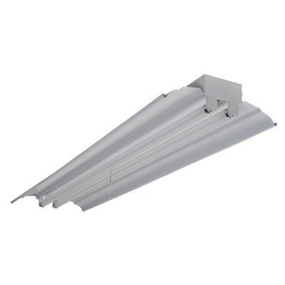 Metalux by cooper slwr232r 2 light shoplight fluorescent strip metalux by cooper slwr232r 2 light shoplight fluorescent strip lighting universe aloadofball Image collections