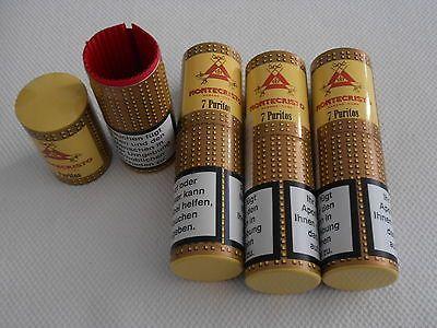 4 Zigarren-Hülsen leer aus Alu von Montecristosparen25 - die besten küchengeräte