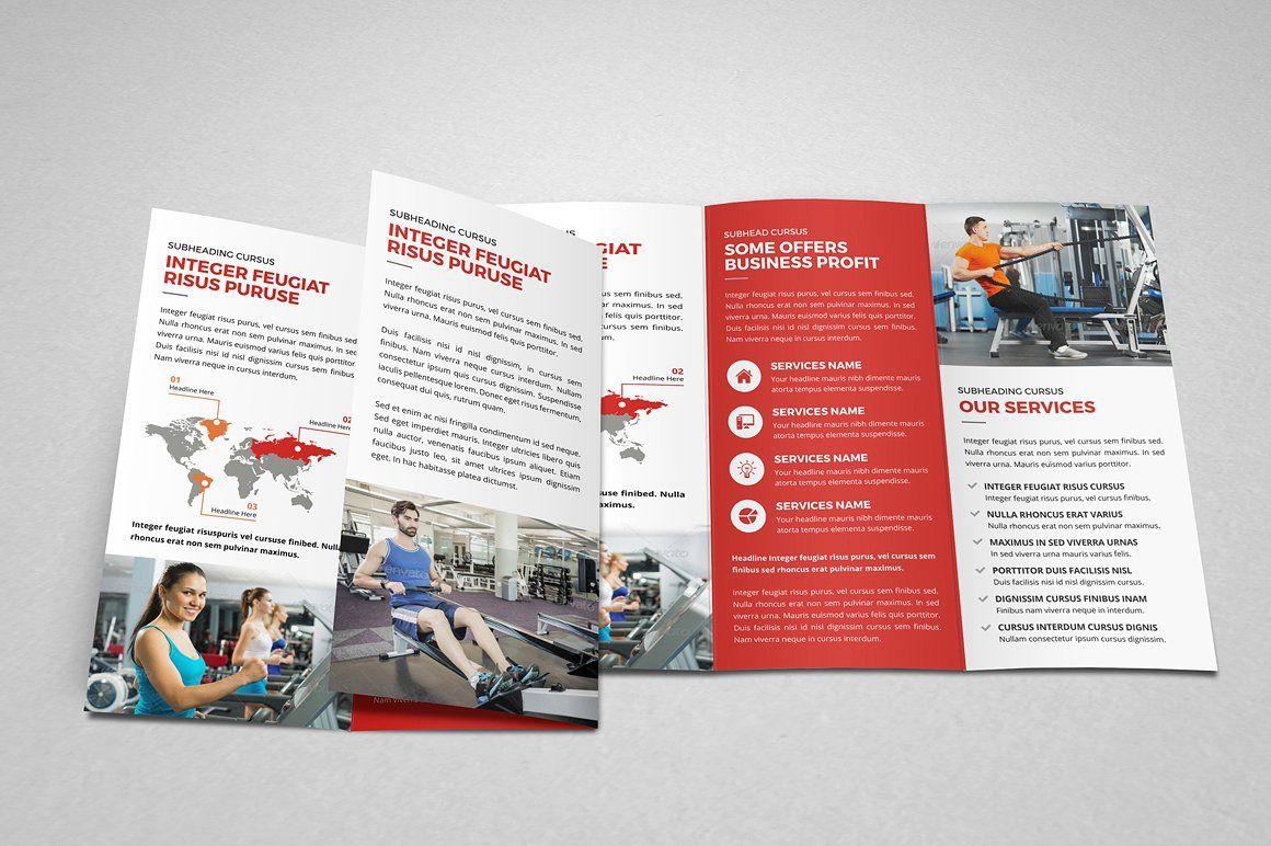 Multipurpose Trifold Brochure Design #Adobe#Tools#PSD