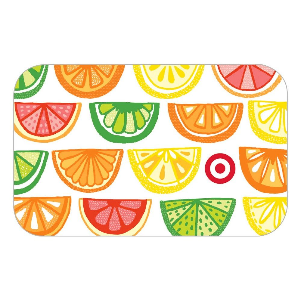 Citrus slices giftcard 20 target gift cards disney