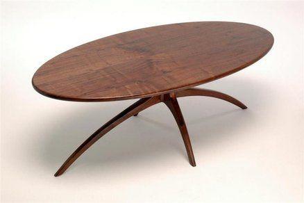Modern Walnut Coffee Table By Daytonb Lumberjocks Com