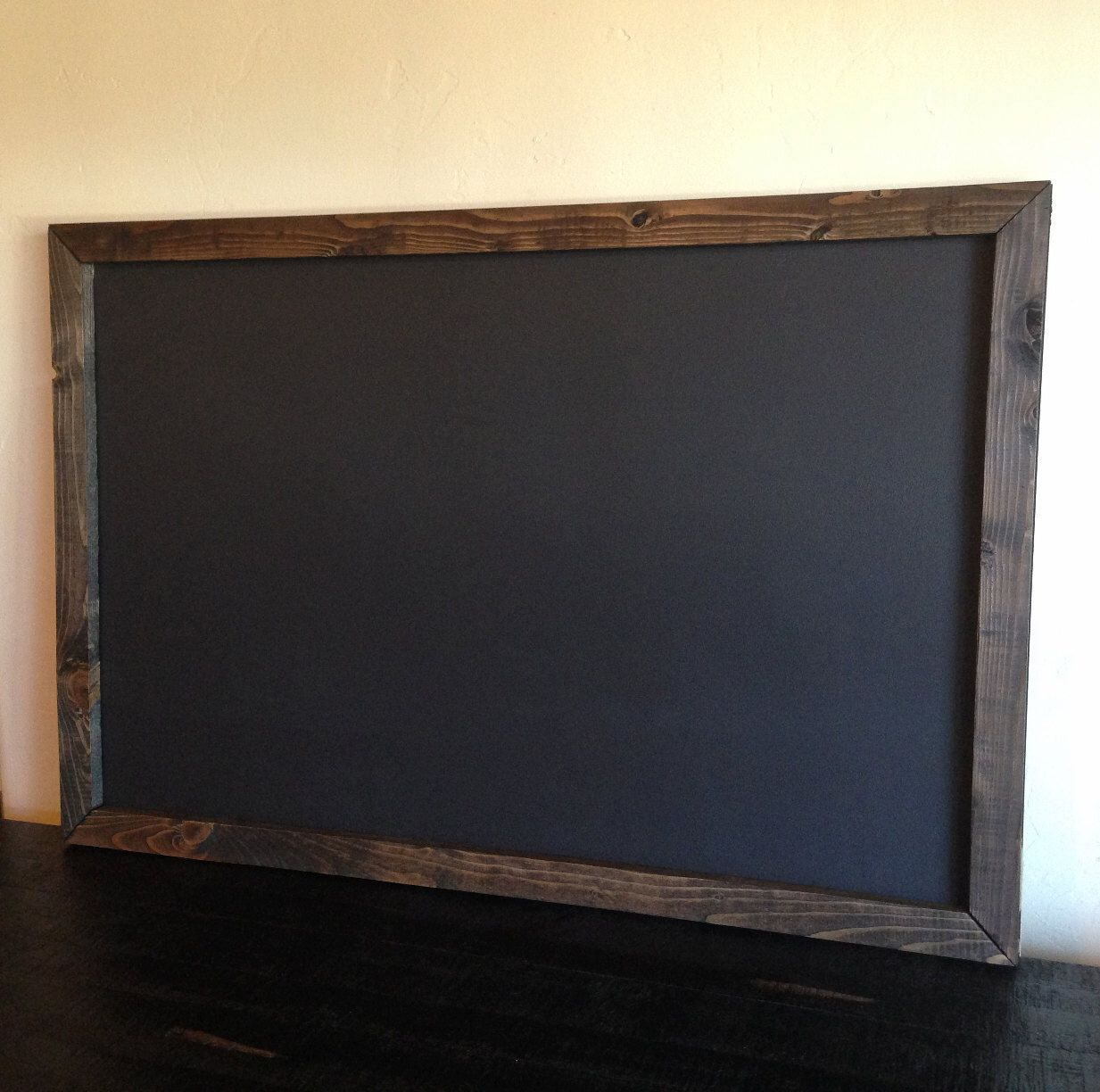large chalkboard x rustic reclaimed wood rustic wedding menu  - hand crafted chalkboard with a rustic frame made of hand selected reclaimedwood the wood frame has been cut sanded stained and assembled by hand