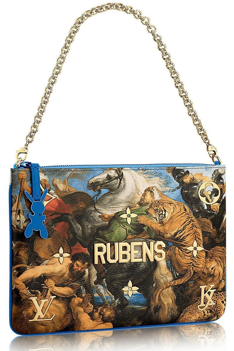 99b9f001a1a8 Louis Vuitton Collaborates With Jeff Koons For Masters LV x Koons Collection