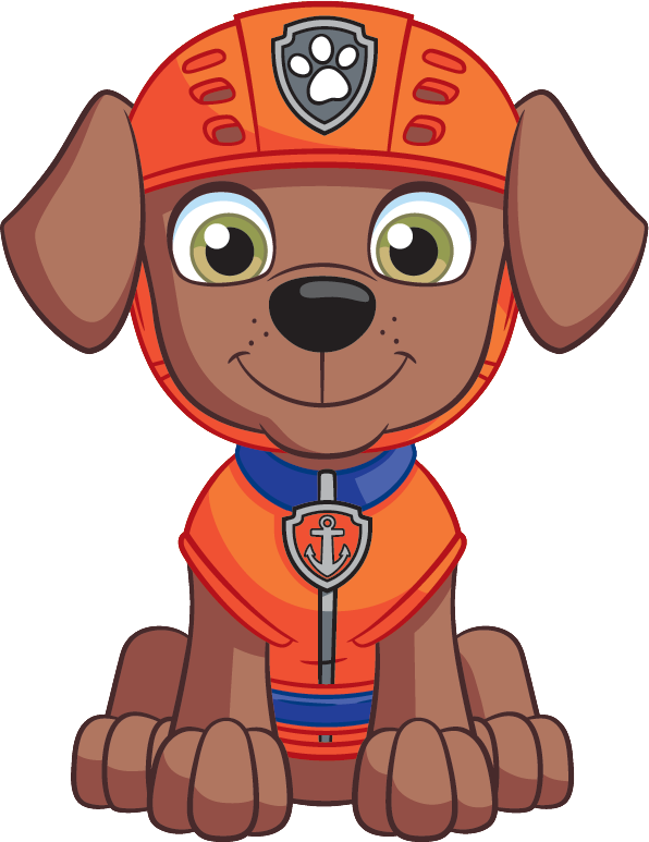 Nickelodeon Nick Jr. PAW Patrol Zuma From Front 2D.png