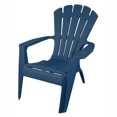 Gracious Living Waterloo Blue Adirondack Chair 11474 26 Home