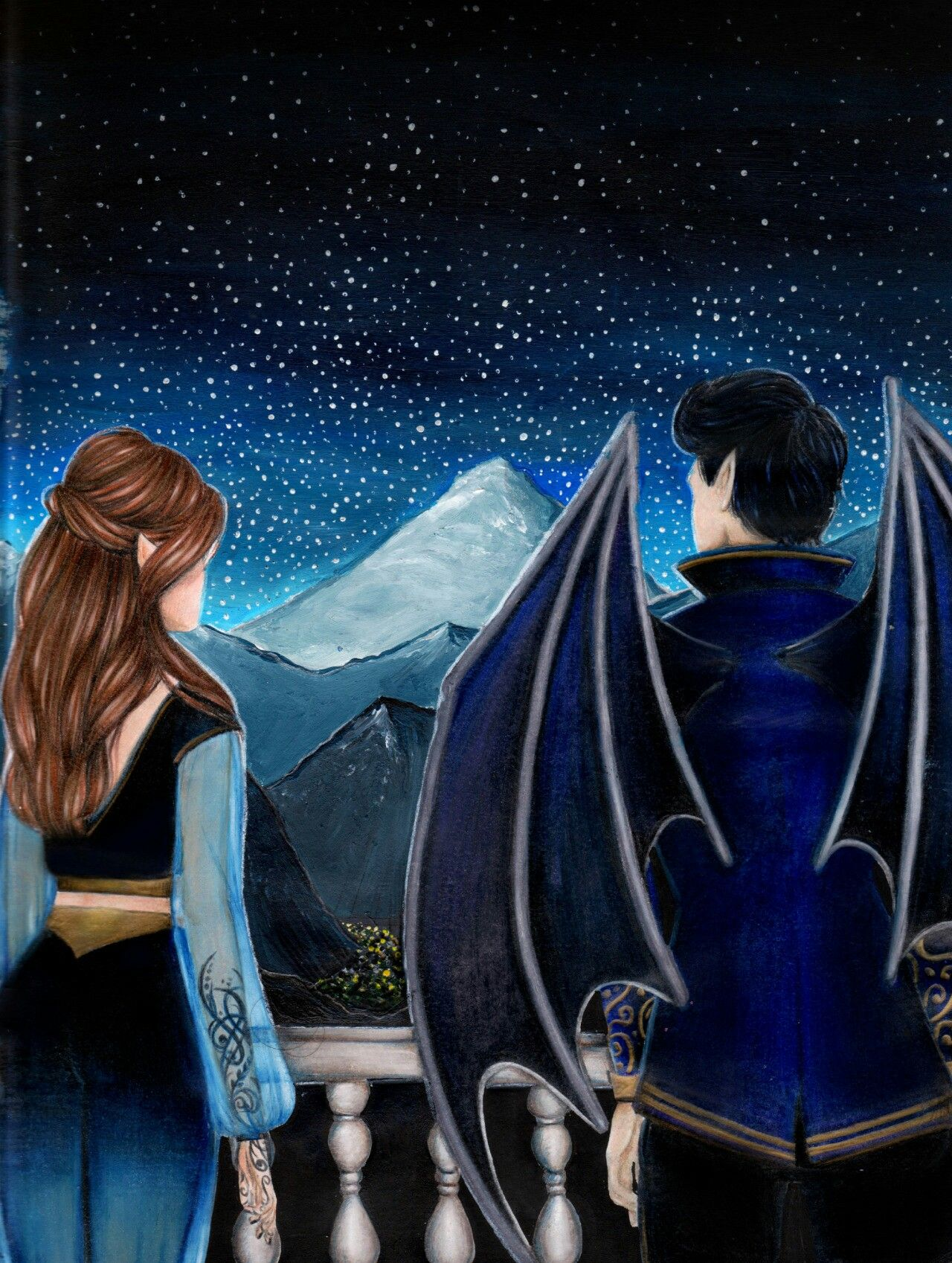 Rhys And Feyre A Court Of Mist And Fury A Court Of Wings And