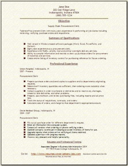 Supply Chain Resume  Coverl    Chains And Template
