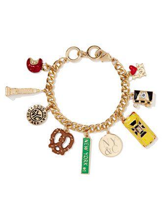 Nyc Charm Bracelet New York