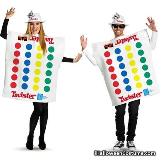 Scrabble And Twister Couple Halloween Costume - Halloween Costumes - halloween duo ideas