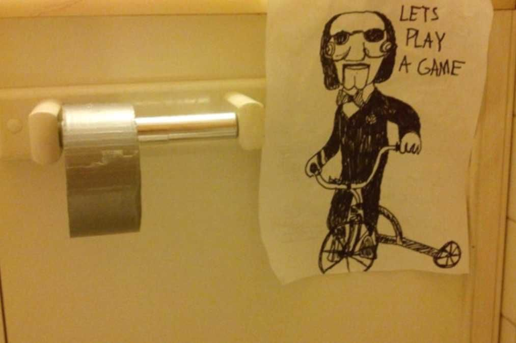 The 22 Most Messed Up But Hilarious Bathroom Pranks You Can Play On Your Friends Evil Genius Lets Play A Game Office Pranks Pranks