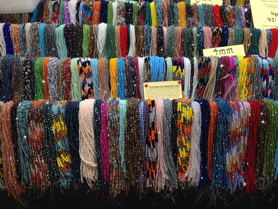 Eye candy from the #NYC #WholeBeadShow. Open today until 6pm. And Saturday & Sunday at the Metropolitan Pavilion!