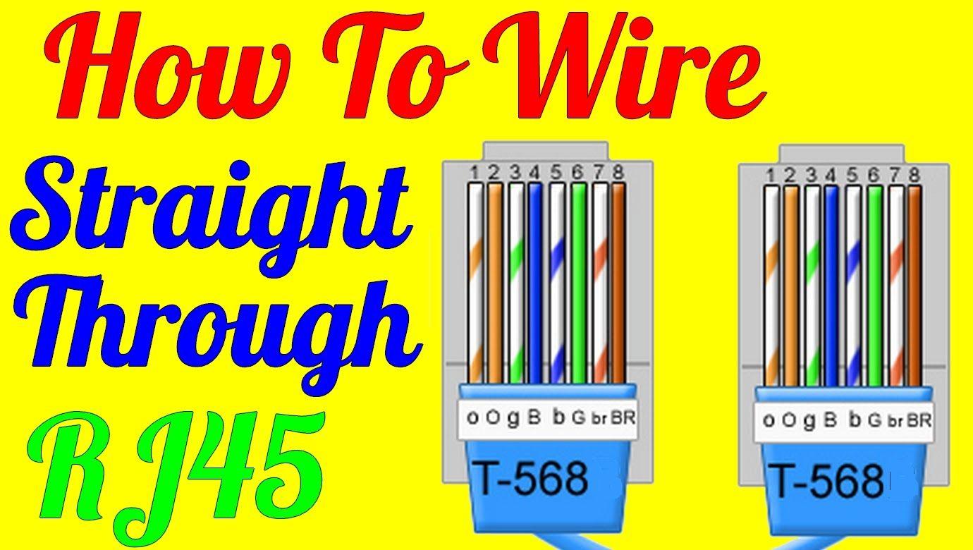 Cat 6 Wiring Diagram Diagram, Wire, Rj45