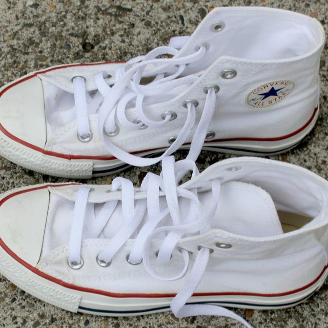 How to Clean White Converse | SHOES