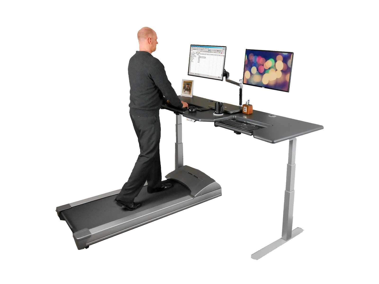 desk lifespan treadmill walking under