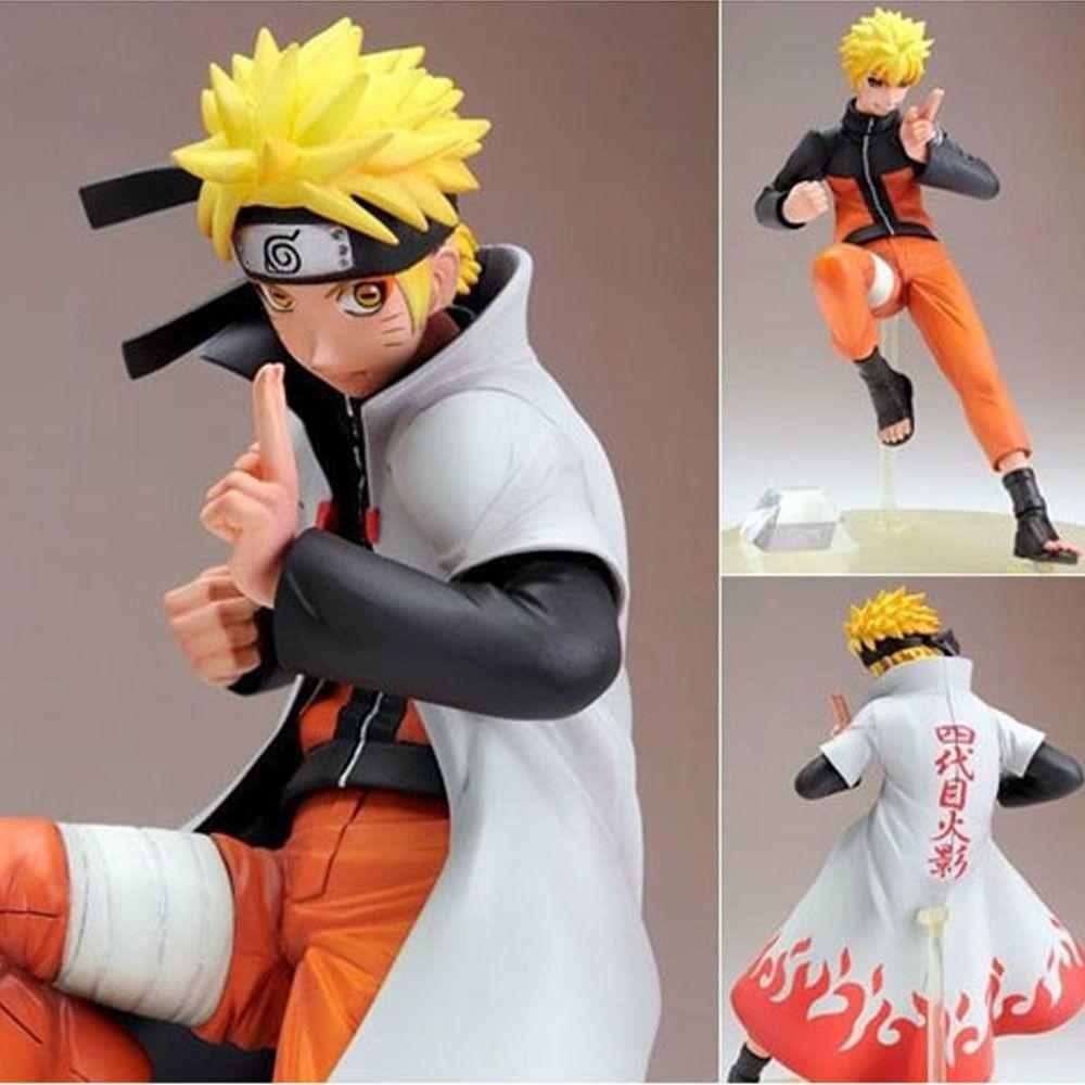 Naruto Shippuden Naruto 4th Hokage Cloak Yondaime Ninetail Kurama