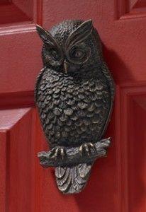 Call of the Wild - Owl Doorknocker | Shop entertainment | Kaboodle ...