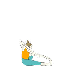 shooting bow pose opposite leg yoga akarna dhanurasana