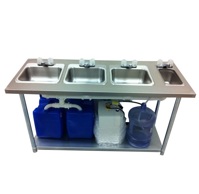 Portable 4 Compartment Sink.Portable Sink Stainless Steel 4 Compartment Ideas For A